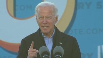 Biden: Un solo estado cambiaría el curso de la generación que viene