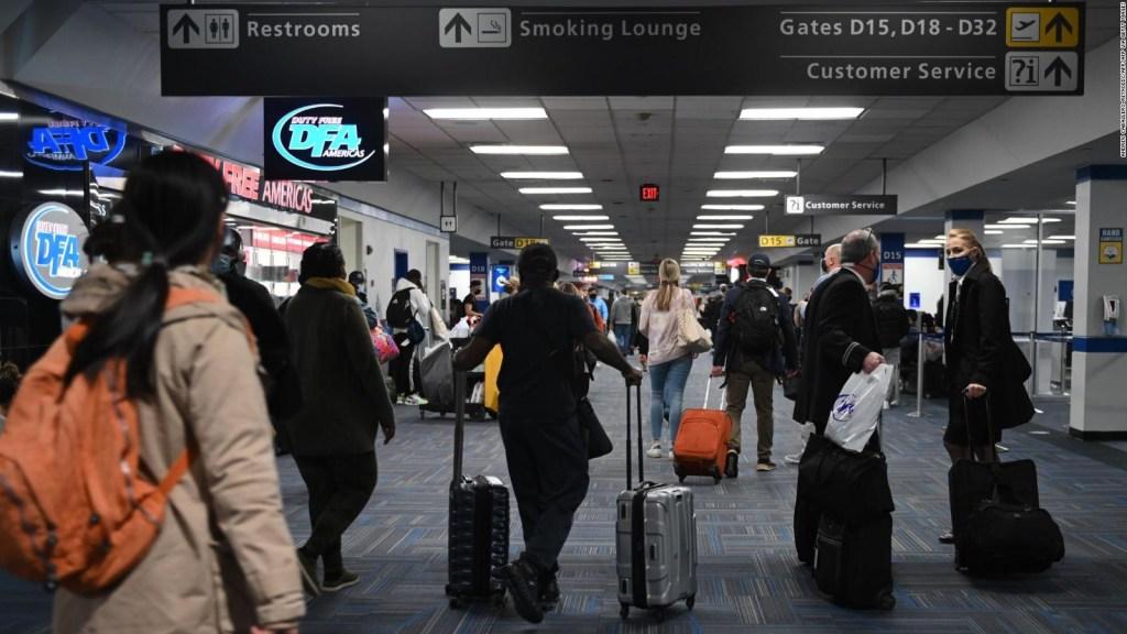 EE.UU. tuvo récord de viajes en plena pandemia