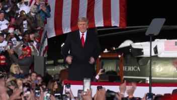 Trump celebró mitin en Georgia para pedir voto al Senado