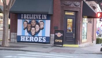 Héroes de Nashville homenajeados con mural