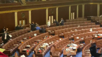 Tensión armada en el piso de la Cámara de Representantes