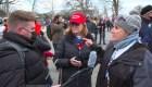 Seguidores de Trump dicen estar orgullosos del caos en el Capitolio