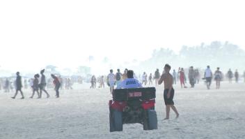 Florida recibe visitantes pese al aumento de contagios