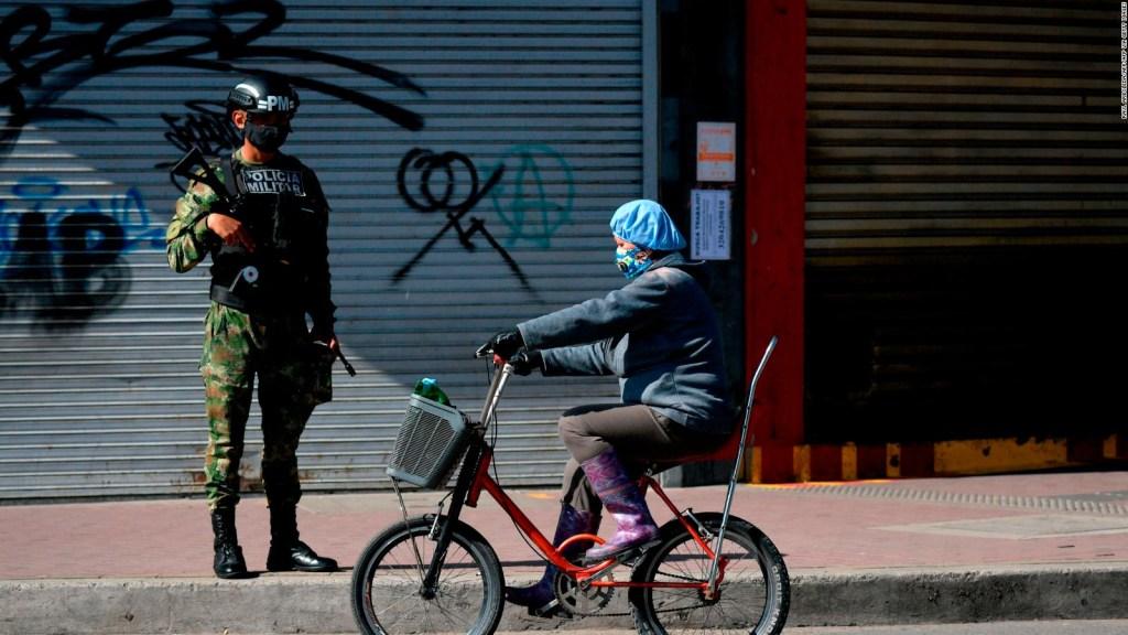 Bogotá, en alerta roja por covid-19