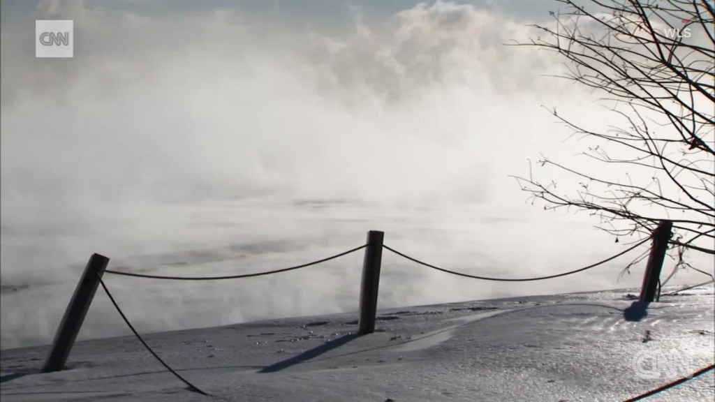 Vórtice polar en camino al hemisferio norte