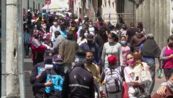 En Ecuador temen que la indisciplina social agrave la pandemia