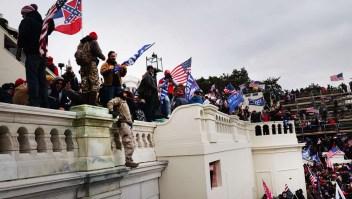 Los sospechosos de atacar el Capitolio de EE.UU.