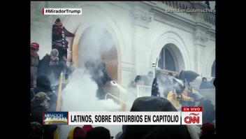 Estos latinos siguen defendiendo a Trump