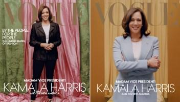 Kamala Harris, envuelta en polémica por portada de Vogue