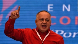 Diosdado Cabello critica a Alberto Fernández