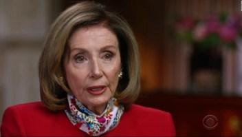 Nancy Pelosi describe lo que sucedió en el Capitolio