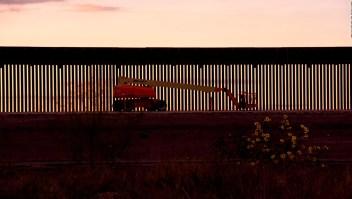 ¿Qué se espera de la visita de Trump al muro fronterizo?