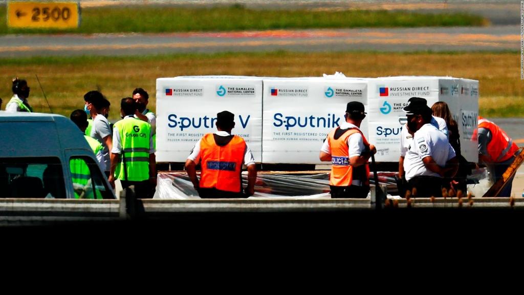 Sputnik V producida en Brasil se venderá a otros países