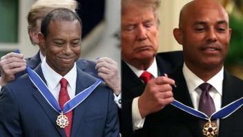 5 atletas que aceptaron la Medalla Presidencial con Trump