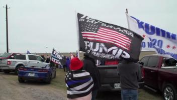 Trump celebra ampliación del muro fronterizo en sur de Texas