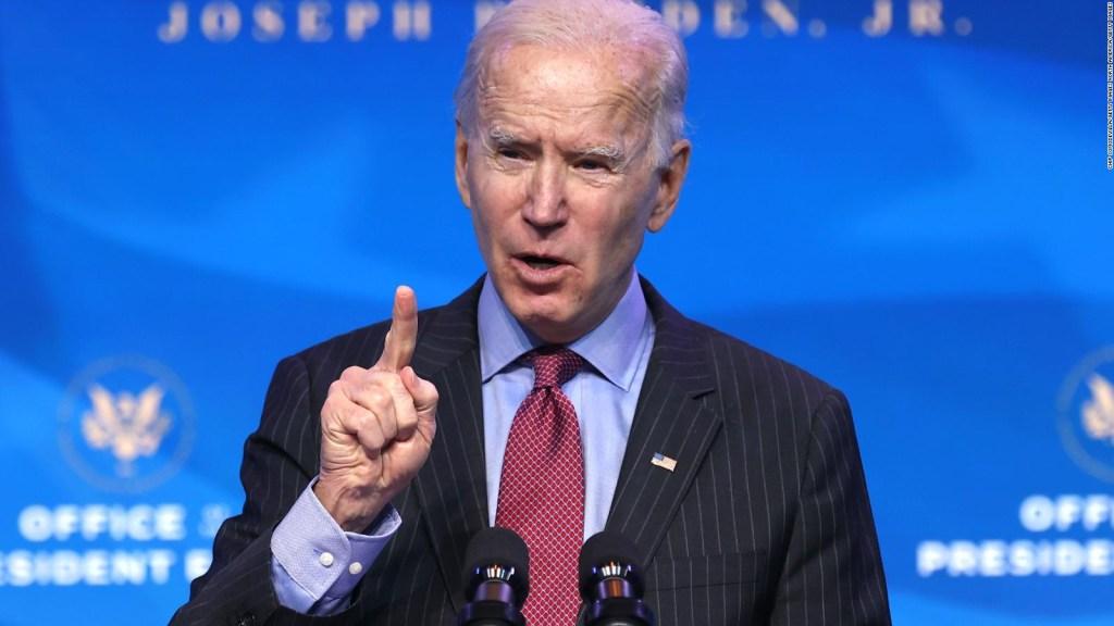 Qué dijo Joe Biden del juicio político a Donald Trump