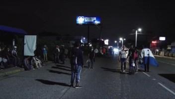 """Migrantes hondureños rumbo a EE.UU: """"No tenemos nada"""""""