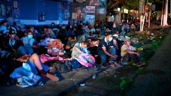 Testimonio de una migrante que viaja en la caravana