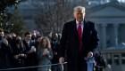 ¿Por qué Trump puede perder su pensión como expresidente?