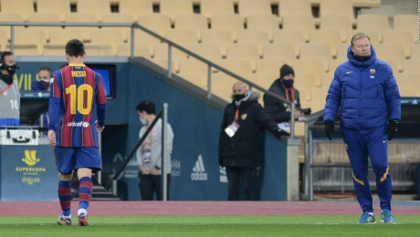La suspensión a Messi tras recibir una tarjeta roja