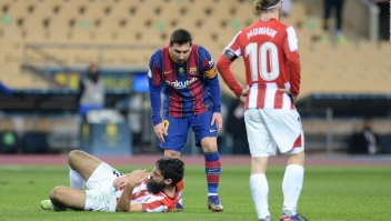 El panorama de Lionel Messi tras su expulsión