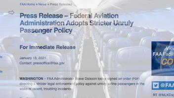 Aerolíneas extreman seguridad por la posesión de Biden