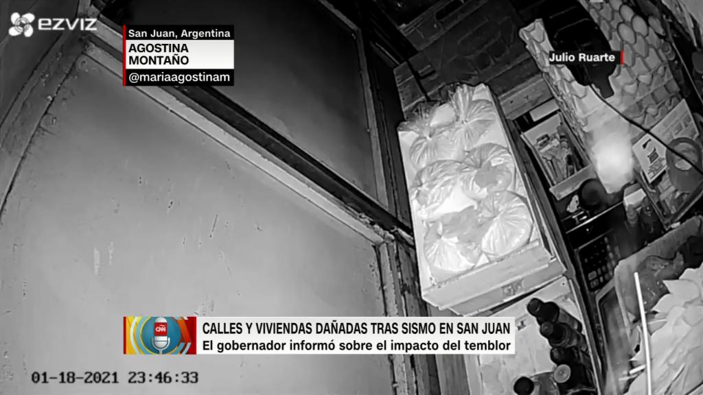 Un sismo azotó una provincia argentina