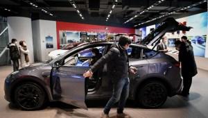 Tesla vende el automóvil Model Y en China