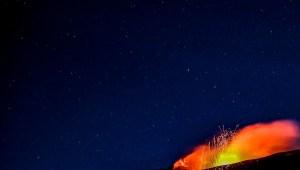 Entra en erupción el volcán Etna, aquí las imágenes