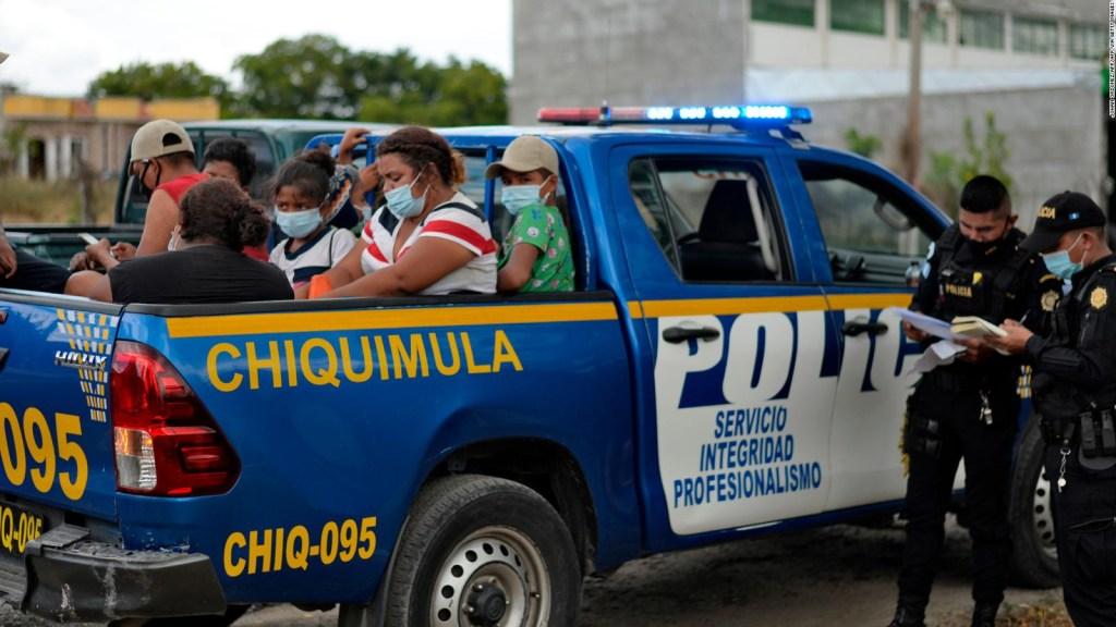 Al menos 1.000 migrantes hondureños ha decidido regresar a su país