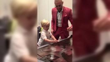 UFC 257: El hijo de McGregor se roba las miradas