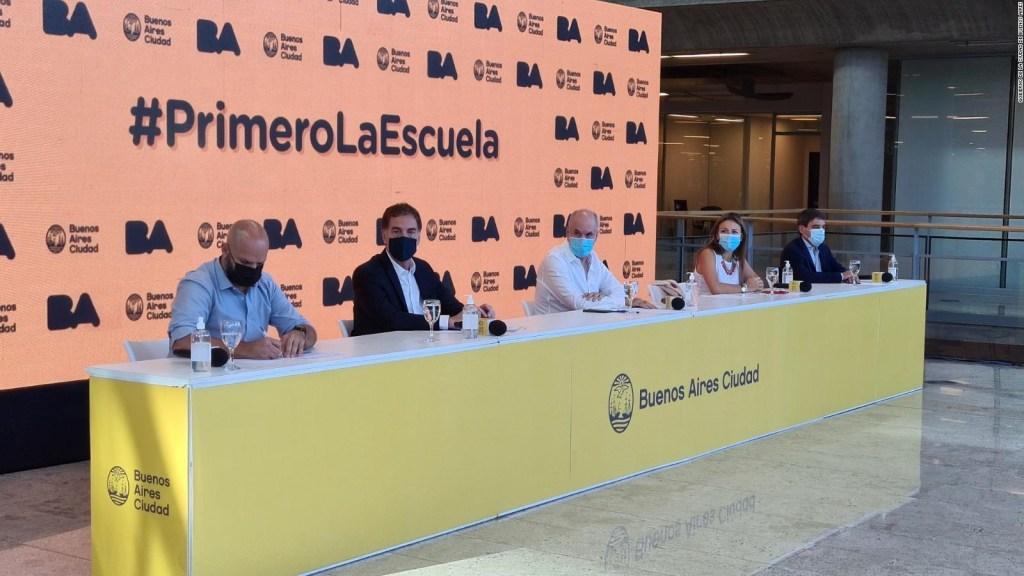 El plan de Buenos Aires para el regreso a clases