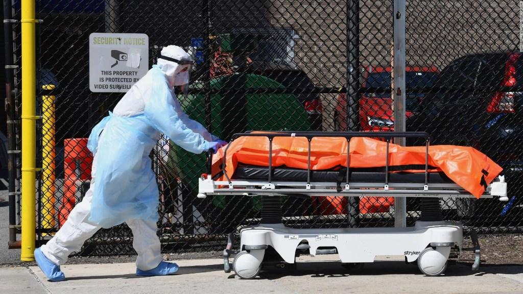 Los CDC proyectan hasta 100.000 muertes más en un mes