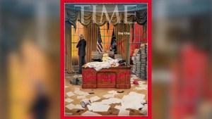 La portada que la revista Time dedica a Biden