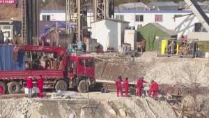 Rescate de mineros en China tardará otras 2 semanas