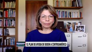 """Laura Chinchilla: """"El plan de Biden hacia Centroamérica se queda corto"""""""