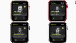 Sal a caminar con famosos, la nueva propuesta de Apple