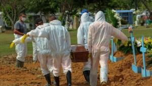 Pandemia de covid-19 provoca caos en Manaos, Brasil