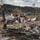 Así dejó un tornado a Birmingham, Alabama
