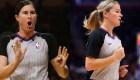 Deux femmes marquent l'histoire de la NBA