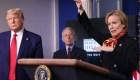 Birx y Fauci revelan cómo fue trabajar con Trump