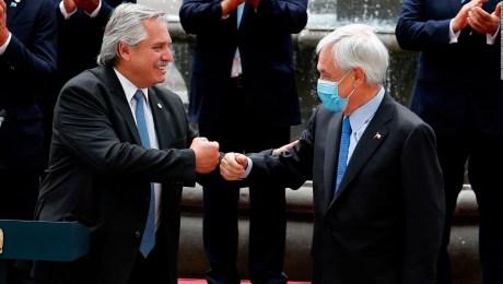 La agenda del presidente de Argentina en Chile