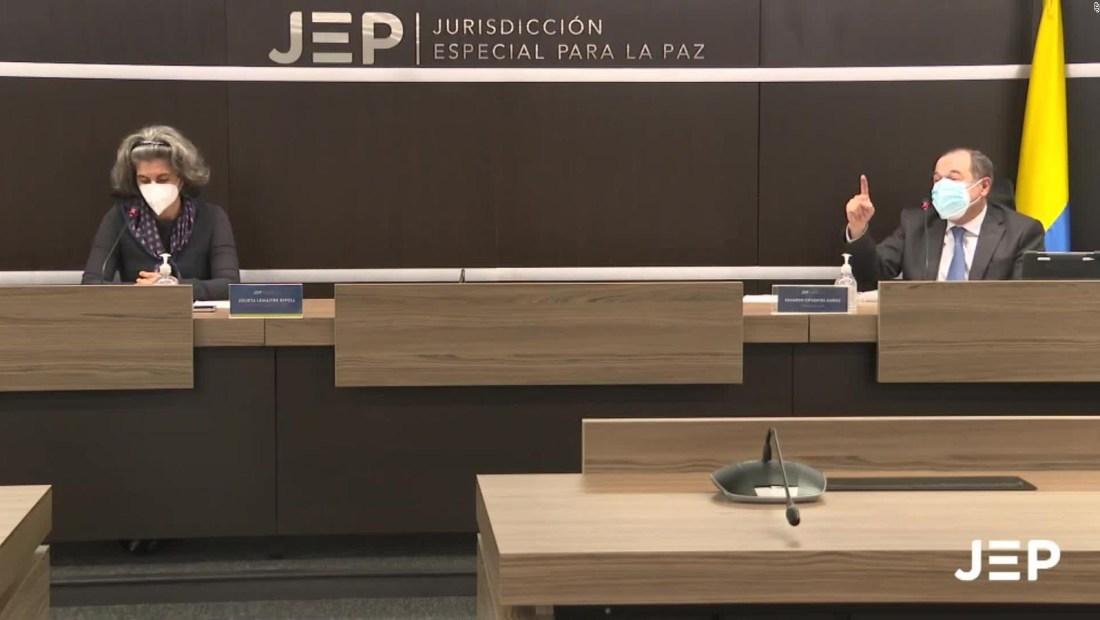 La JEP imputó a ocho exjefes de las FARC en Colombia