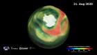 Récord: se cierra la capa de ozono sobre la Antártida