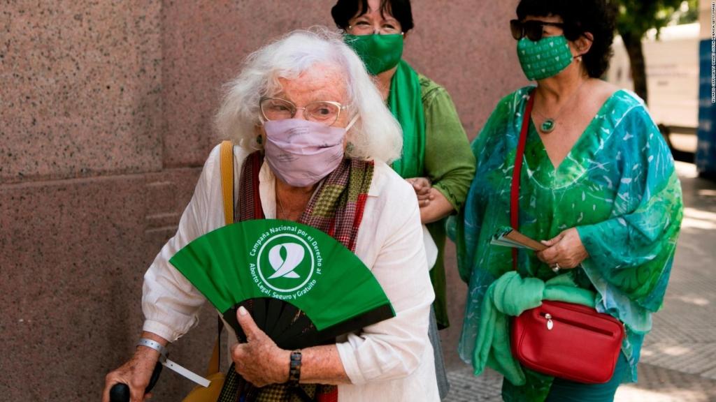 La lucha de una feminista de 91 años