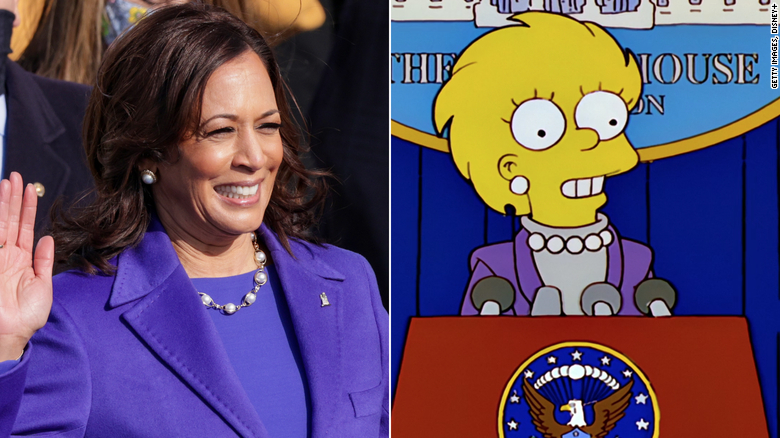Did 'The Simpsons' succeed with the inauguration of Biden and Harris?