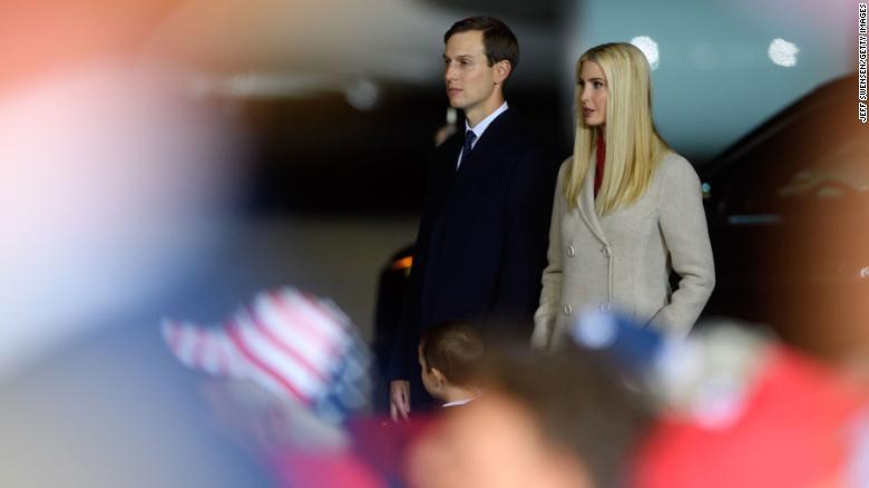 Ivanka Trump y Jared Kushner