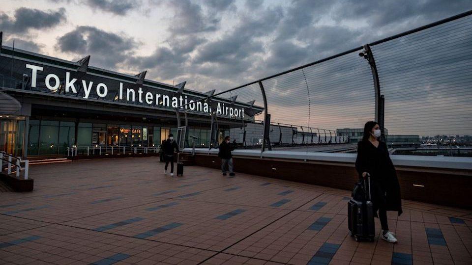Japón variante covid aeropuerto