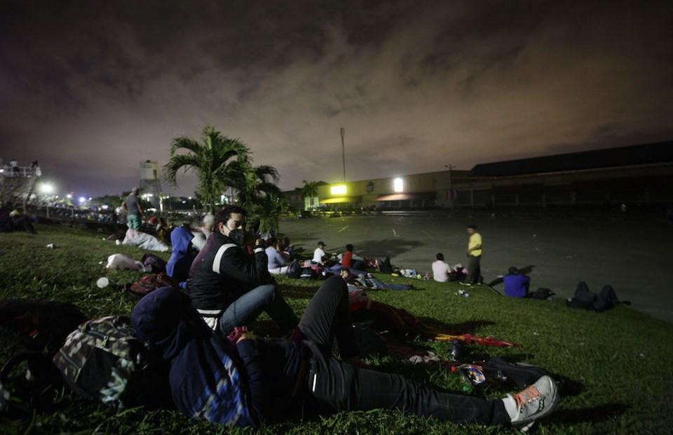 México Guatemala Honduras migrantes caravana