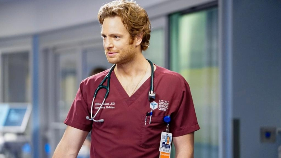 """CHICAGO MED -- """"Those Things Hidden In Plain Sight"""" Episode 602 -- Pictured: Nick Gehlfuss as Dr. Will Halstead -- (Photo by: Elizabeth Sisson/NBC)"""